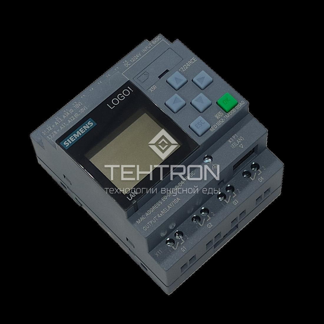 Запасные части для термокамер Техтрон. Микроконтроллер Siemens Logo.